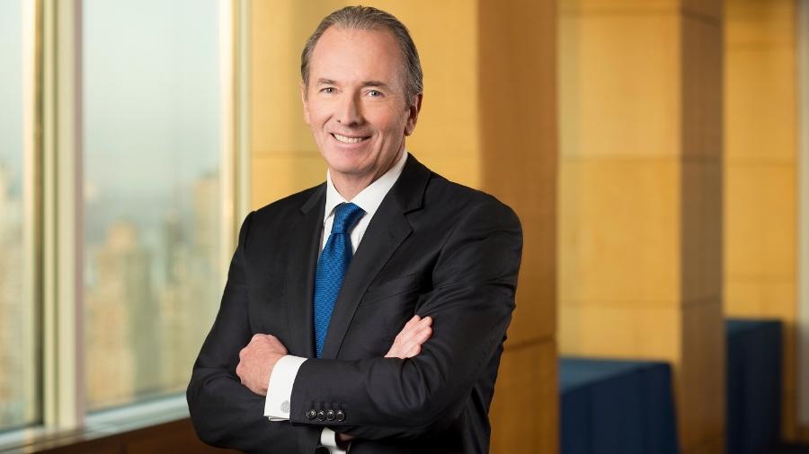 James Gorman, presidente do Morgan Stanley, falou aos funcionários em conferência anual do banco - Divulgação