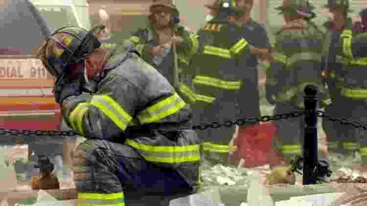 Bombeiros de Nova York estiveram entre as vítimas dos ataques de 2001 - GETTY IMAGES - GETTY IMAGES
