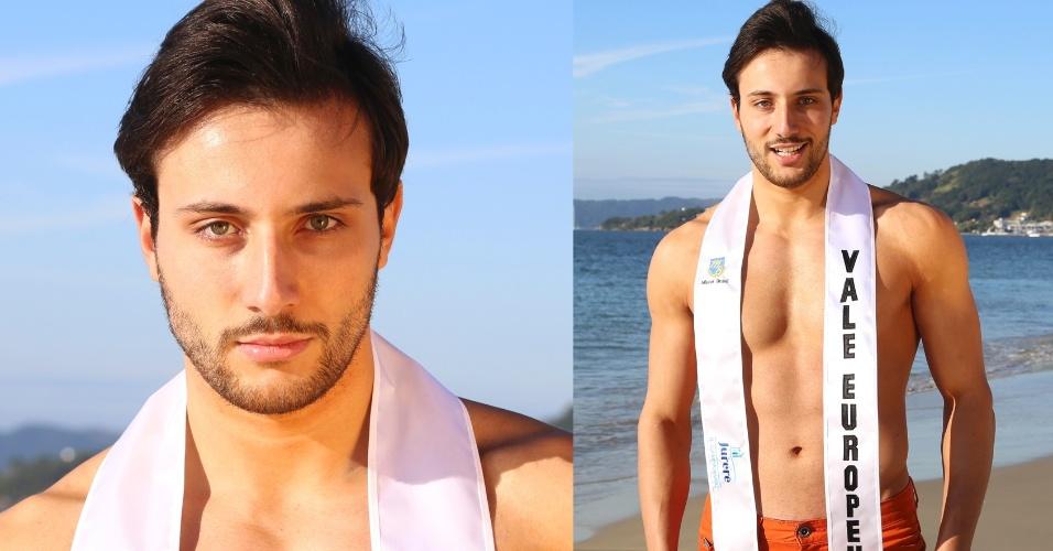 VALE EUROPEU (SC) - Willian Guilherme Policarpo de Castro, 21, modelo