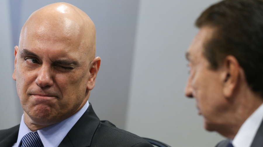 Alexandre de Moraes, ministro do Supremo Tribunal Federal - Dida Sampaio/Estadão Conteúdo