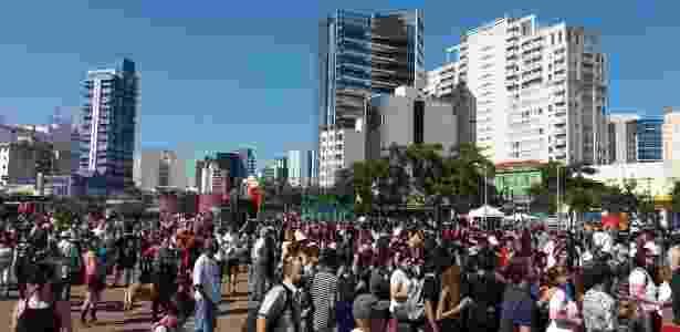 Este é o segundo protesto que pede Diretas Já desde a crise iniciada pela delação da JBS - Nivaldo Souza/UOL - Nivaldo Souza/UOL