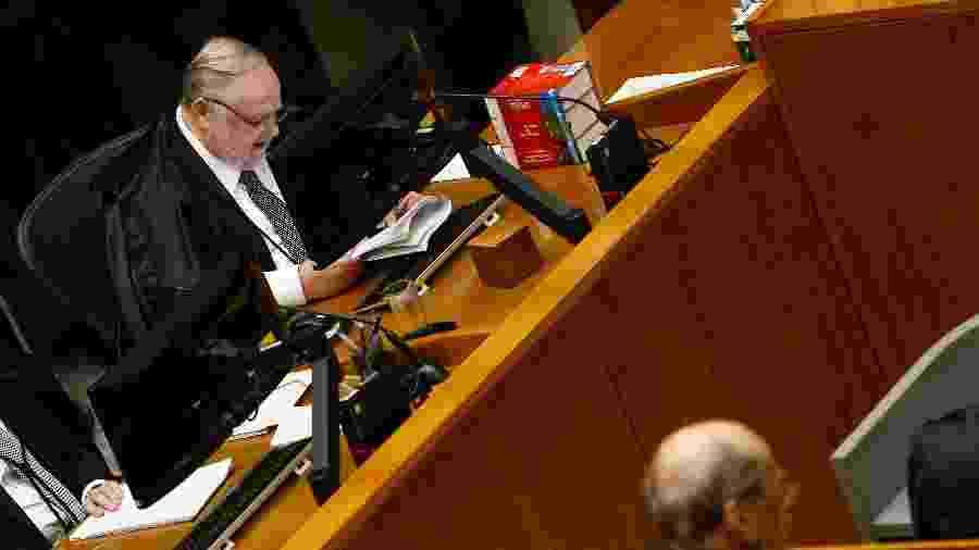 O ministro Felix Fischer é relator do recurso de Lula no processo do tríplex  - 6.mar.2018 - Pedro Ladeira/Folhapress