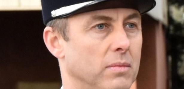 O tenente-coronel Beltrame ficou gravemente ferido após se oferecer para ficar no lugar de mulher usada como escudo humano em supermercado - EPA