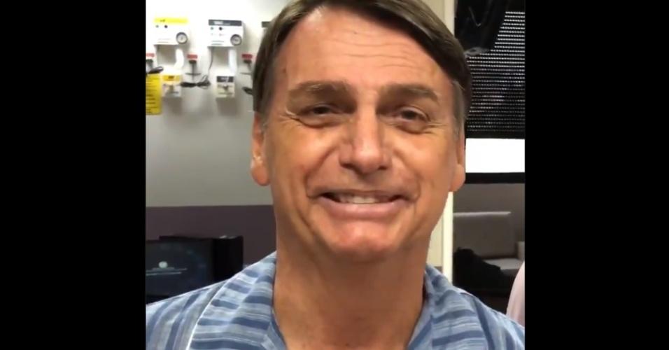 Bolsonaro grava novo vídeo e diz esperar alta até fim do mês