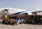 Governo de MG diz que avião de Israel chega a BH às 21h30 deste domingo - Divulgação/Twitter/Forças de Defesa de Israel