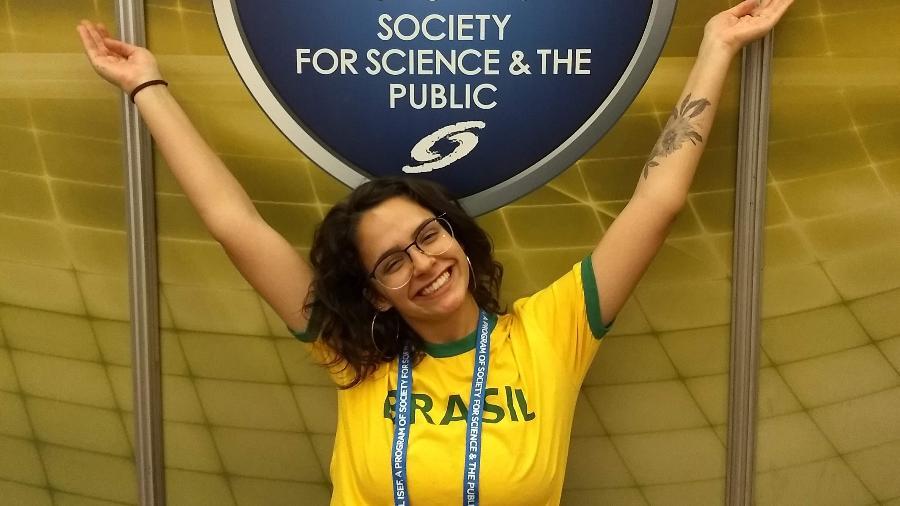 Juliana Estradioto conquistou a primeira colocação em uma das categorias da competição - Arquivo Pessoal