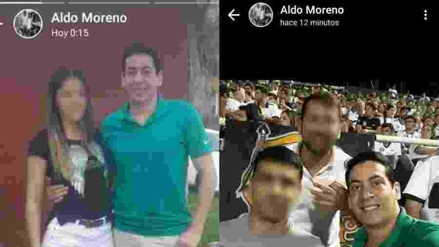 Traficante Aldo Ramón Moreno Ledezma deixa cadeia para ir ao médico, passeia e mostra tudo no WhatsApp - reprodução/ABC Color