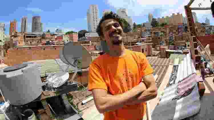 "Vagner de Alencar, jornalista e escritor do livro ""Cidade do Paraíso"" - Anderson Meneses/Agência Mural"