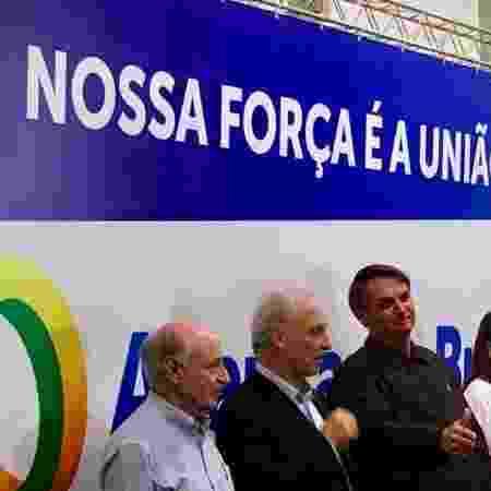 Bolsonaro em evento do Aliança pelo Brasil - Hanrrikson Andrade/UOL