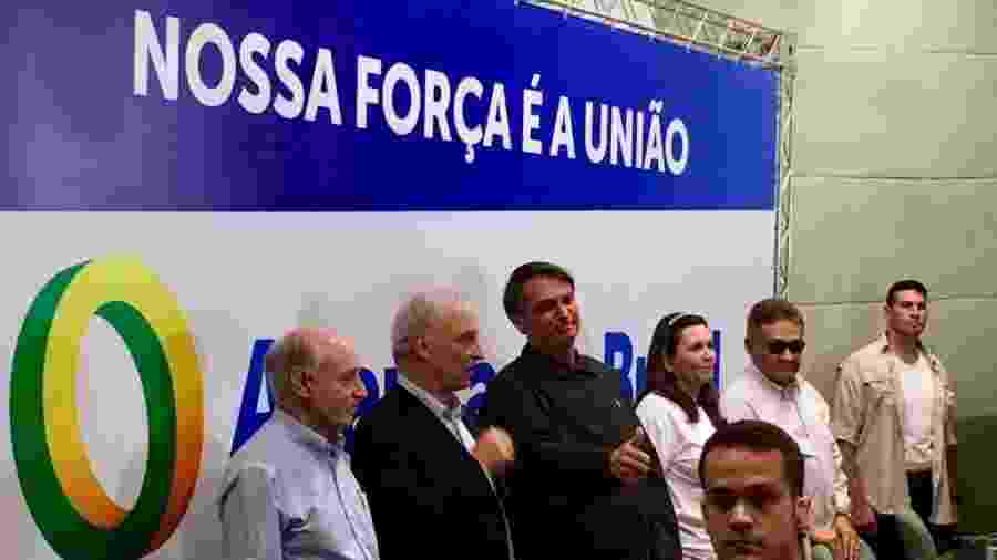 Bolsonaro em evento do Aliança pelo Brasil; partido tem menos de 10% das assinaturas necessárias  - Hanrrikson Andrade/UOL