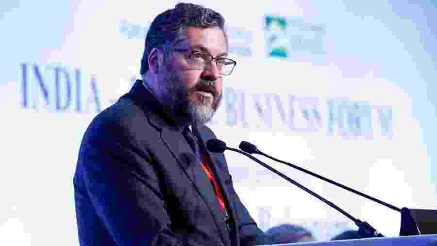 O ministro das Relações Exteriores, Ernesto Araújo - Alan Santos/PR