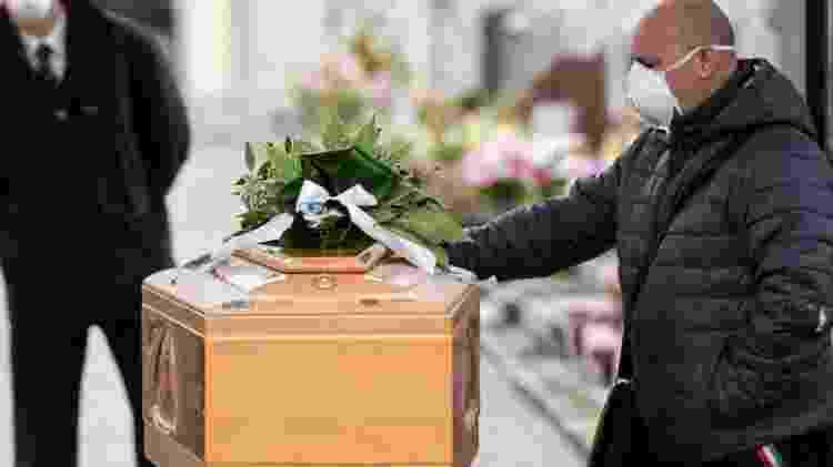 Mortes por coronavírus na Itália já superam as da China, o local de origem da pandemia - Getty Images - Getty Images