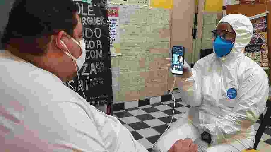 Serviço de telemedicina antecipou gravidade de casos de covid-19 e tem zero óbitos até o momento - Divulgação