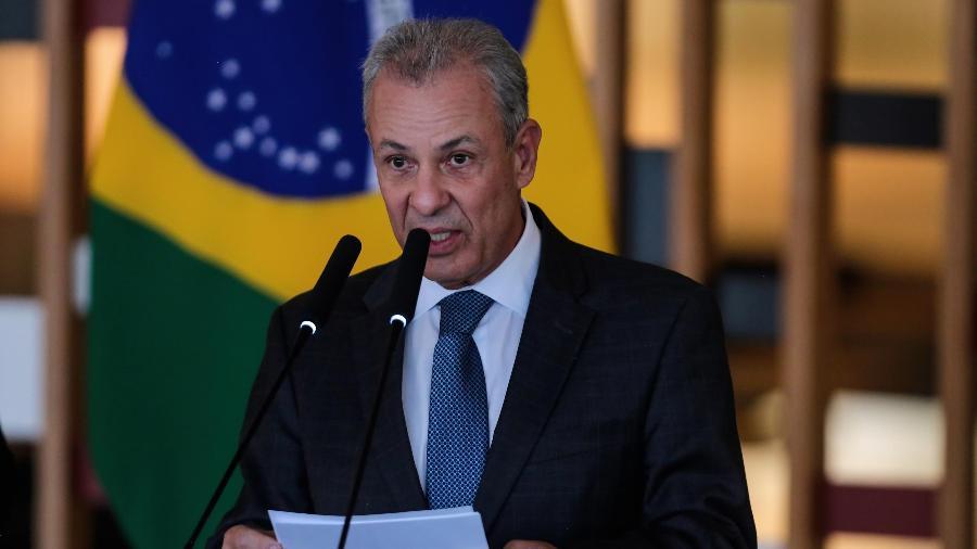 16.jun.2021 - O ministro de Minas e Energia, Bento Albuquerque, durante evento em Brasília (DF) - Wallace Martins/Futura Press/Estadão Conteúdo