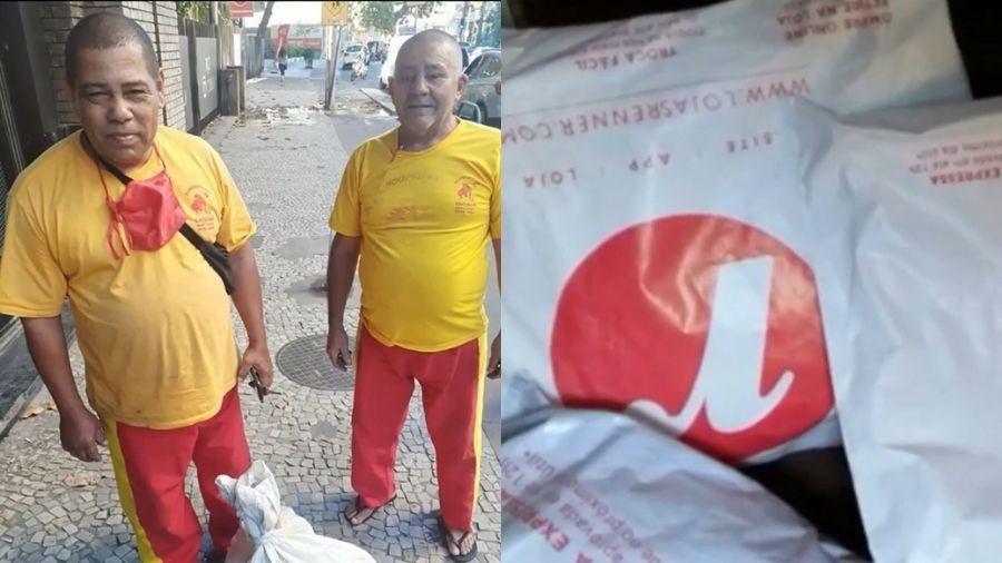 Dona das roupas estava desesperada, segundo o desentupidor - Reprodução/TV Globo