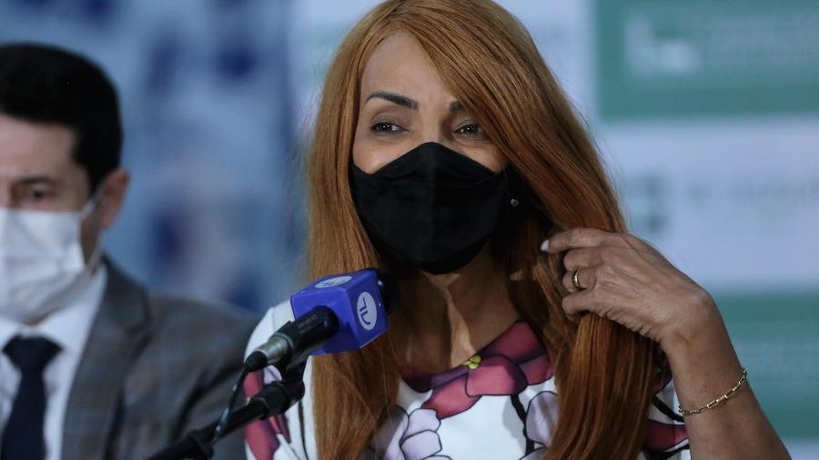 A ex-deputada Flordelis foi presa em sua casa, em Niterói (RJ), no dia 13 de agosto - Wallace Martins/Futura Press/Estadão Conteúdo