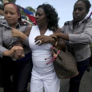 Berta Soler, líder do grupo oposicionista As Damas de Branco, seria um dos convidados