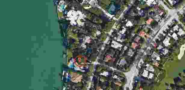 Google Maps Casa Pablo Escobar Miami - Reprodução/Google Maps - Reprodução/Google Maps