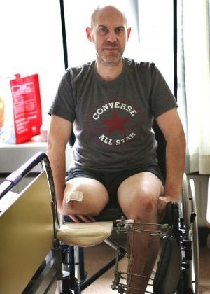 Walter Benjamin perdeu parte da perna direita no atentado