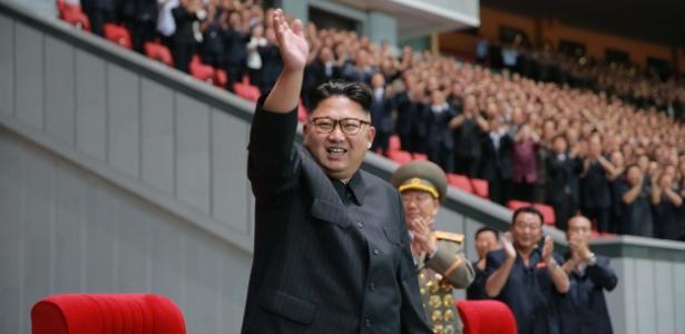 Um dos funcionários mortos teria cochilado durante reunião com Kim Jong-un (foto)