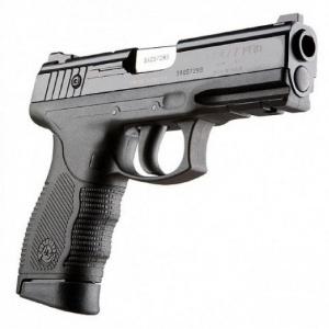 Pistola Taurus modelo 24/7, usada por policiais da Paraíba