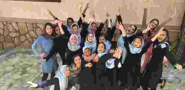Shabana Basij-Rasikh, que tem uma escola para garotas no Afeganistão SOLA  - Divulgação/Sola - Divulgação/Sola