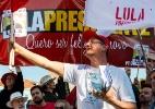 Manifestações pró-Lula em mais de 70 cidades do país (Foto: Henry Milleo/Fotoarena/Estadão Conteúdo)