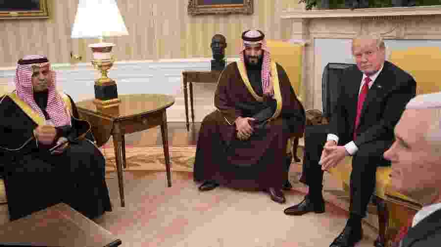Genro de Trump se tornou um amigo influente do príncipe herdeiro saudita, que é suspeito de mandar matar jornalista - Stephen Crowley/The New York Times