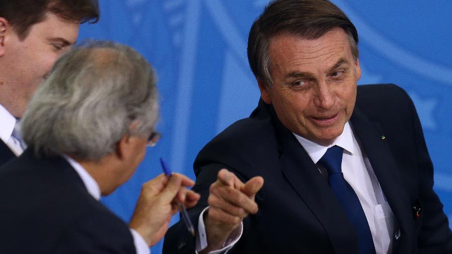 Ministro Paulo Guedes diz que recriação de ministério é ato político para acomodar Onyx Lorenzoni e aproximar governo do Senado - Pedro Ladeira/Folhapress