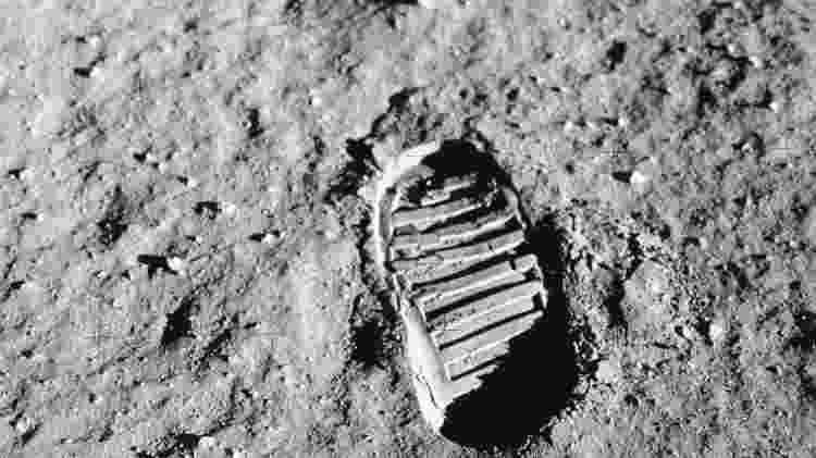 A pegada do homem na lua - Nasa