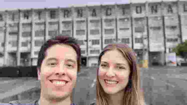 Modo retrato na selfie do M30 agrada - Gabriel Francisco Ribeiro/UOL - Gabriel Francisco Ribeiro/UOL