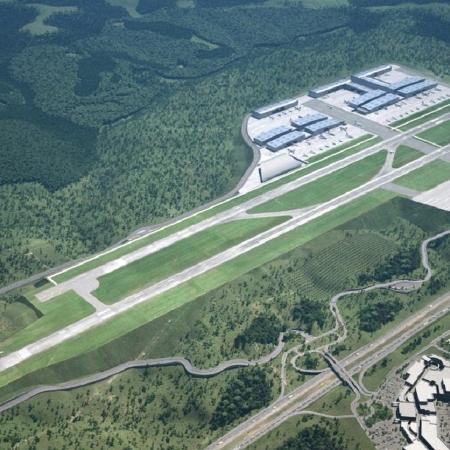 O aeroporto Catarina gerou um Ebitda de R$ 1,7 milhão, alta de 35,8% - Divulgação