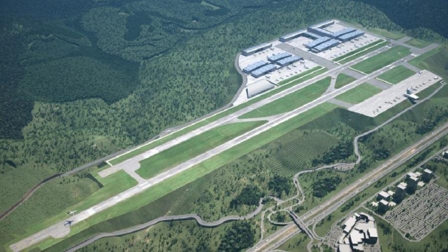 Aeroporto Catarina é o primeiro da iniciativa privada voltado exclusivamente à aviação executiva - Divulgação