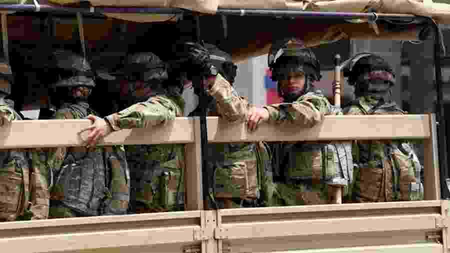 Soldados dos Estados Unidos - Warrick Page/Getty Images