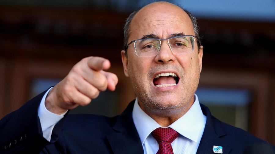 28/08/2020 - Wilson Witzel (PSC-RJ) faz pronunciamento após ser afastado do cargo de governador do Rio de Janeiro - WILTON JUNIOR/ESTADÃO CONTEÚDO