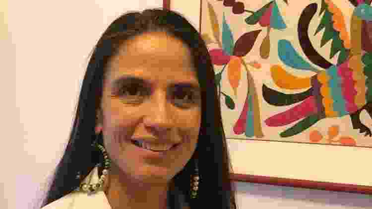 Patricia Portillo Mazal, médica do Hospital Italiano de Buenos Aires, faz com que os pacientes preparem seus próprios kits - Arquivo Pessoal - Arquivo Pessoal