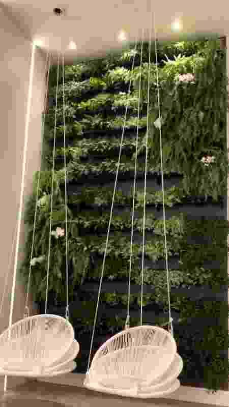 Jardim vertical na mansão de Mayra Cardi - Reprodução/Instagram - Reprodução/Instagram