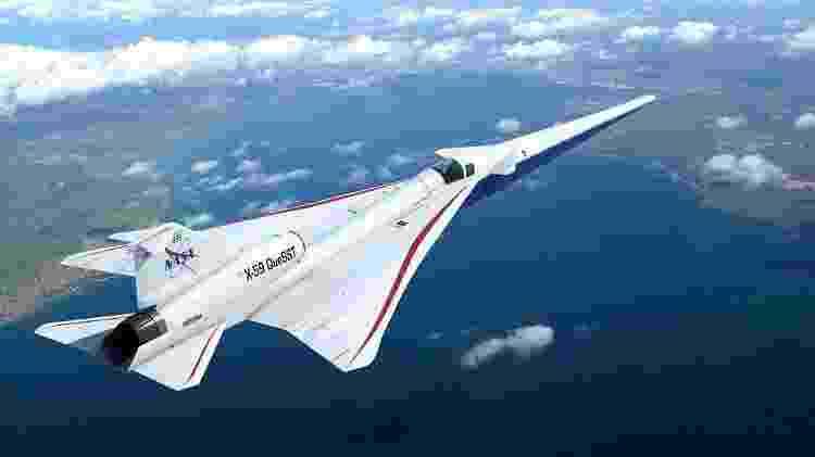 O X-59 da Nasa espera resolver o problema do estrondo sônico - Nasa - Nasa