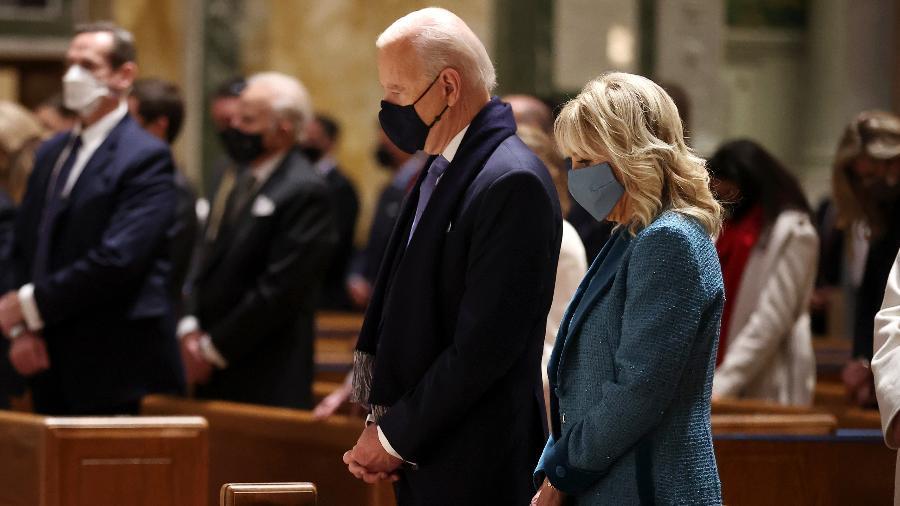 Conferência Episcopal dos EUA não tem autoridade para proibir Biden de receber o sacramento. - Chip Somodevilla/Getty Images