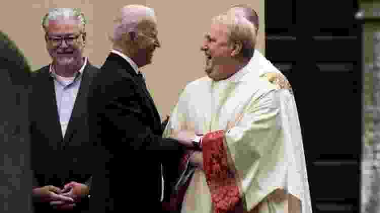 Biden costuma frequentar a missa nos finais de semana em Wilmington, no Estado de Delaware, onde tem residência - Reuters - Reuters
