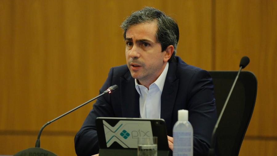 16.nov.2020 -  Diretor de política monetária do Banco Central (BC), Bruno Serra Fernandes, participa da Coletiva de Lançamento do Pix, em Brasília - Raphael Ribeiro/BCB
