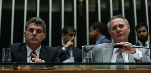 Romero Jucá e Renan Calheiros eram interlocutores do Congresso com a Odebrecht