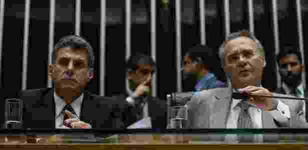 Romero Jucá e Renan Calheiros eram interlocutores do Congresso com a Odebrecht - Fabio Rodrigues Pozzebom/Agência Brasil