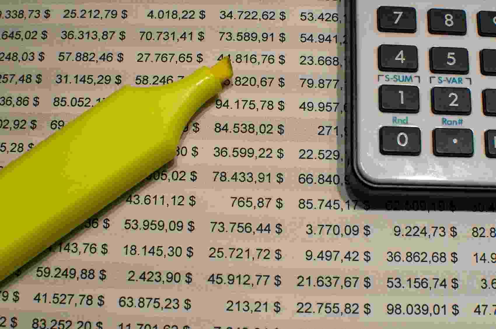 planilhas, dados, números, excel - iSTock