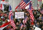 """""""Como muçulmano americano, nunca me senti aceito em meu próprio país - até o governo Trump"""" - Kathy Willens/NYT"""
