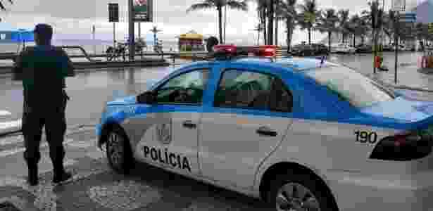 Carnaval no Rio teve relatos de arrastões até mortes - Divulgação/PMERJ