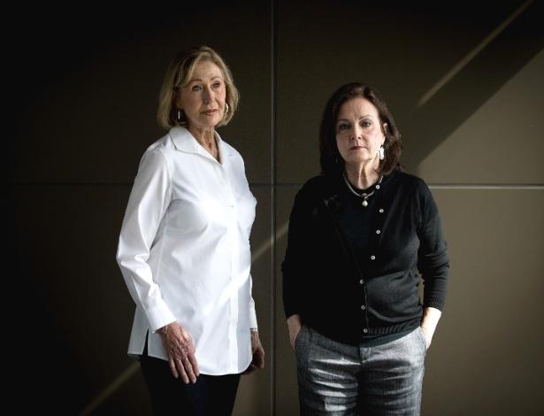 As evangélicas Carol Rains (e) e Linda Leonhart (d) votaram em Trump, mas estão dispostas a escolher outro republicano nas próximas eleições