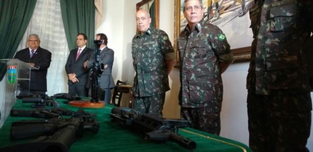 Interventor recebeu em março doação de armas às polícias do Rio