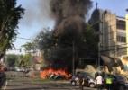 Antara Foto/ Handout Surabaya Government/ via REUTERS