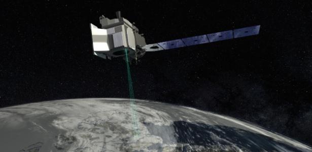 Nasa envia laser ao espa o para medir gelo na terra for Mostra nasa